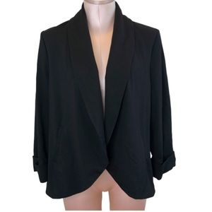 A Pea in the Pod Open Front Cardigan Blazer